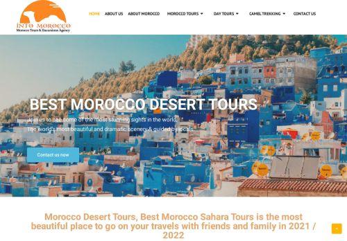 لقطة شاشة لموقع intomorocco بتاريخ 02/05/2021 بواسطة دليل مواقع روكيني