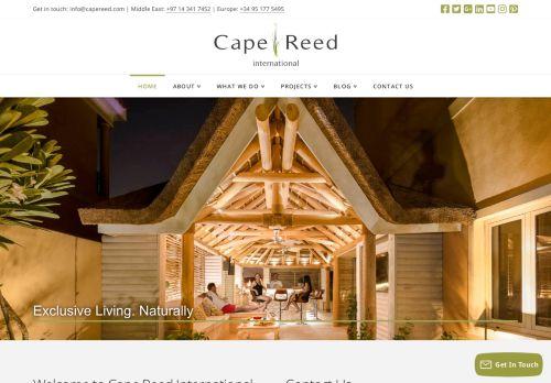 لقطة شاشة لموقع Cape Reed International بتاريخ 05/05/2021 بواسطة دليل مواقع روكيني