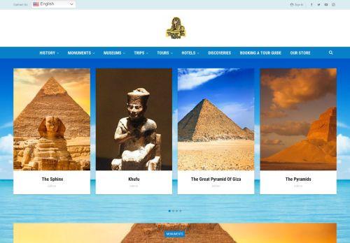 لقطة شاشة لموقع Tour in egypt بتاريخ 22/09/2021 بواسطة دليل مواقع روكيني