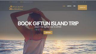 لقطة شاشة لموقع جزيرة الجفتون Giftun Island بتاريخ 31/12/2019 بواسطة دليل مواقع روكيني