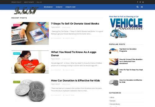 لقطة شاشة لموقع donatnow بتاريخ 04/11/2020 بواسطة دليل مواقع روكيني