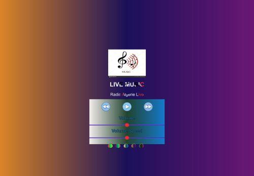 لقطة شاشة لموقع audioPalyer بتاريخ 12/01/2021 بواسطة دليل مواقع روكيني